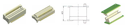 0.5 mm Board To Board Connector-4.5H